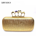Luxury classic gold black fashion diamonds celebrity bags italian brand designer clutch party Evening handbags