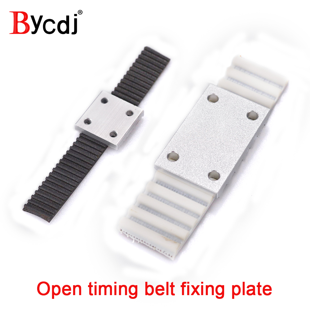 5M Open Timing Belt TBCS Connection Clamping Plate A+B For 15//20//25//30mm Width