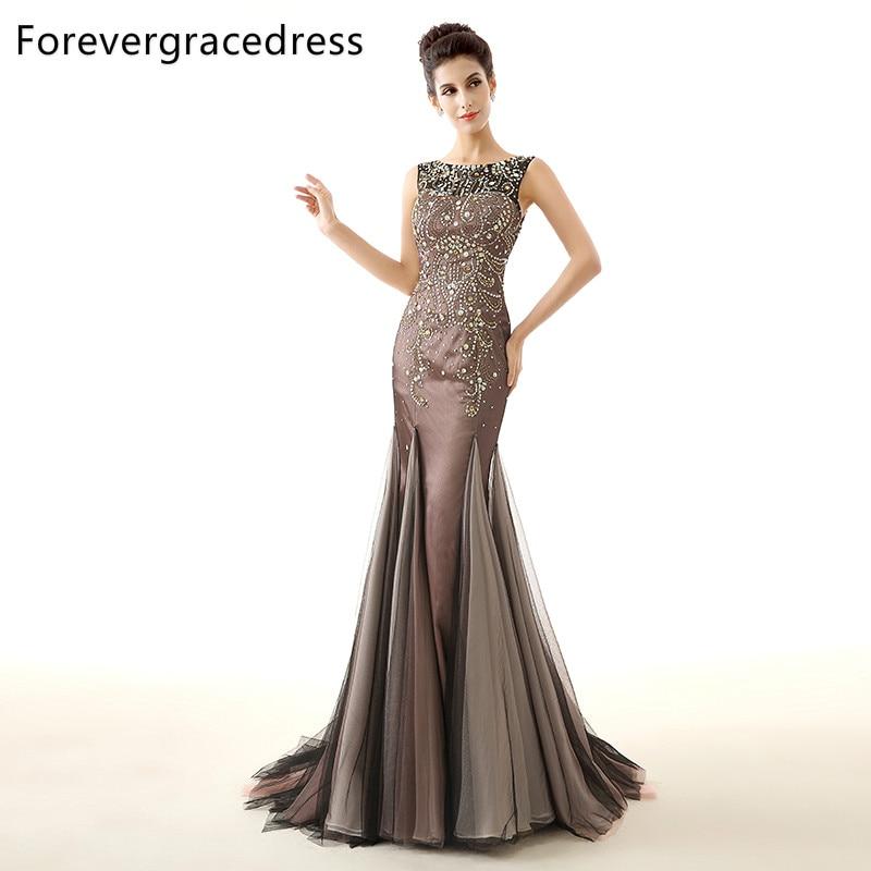Forevergracedress Aktuella bilder Mermaid Evening Dress Billiga Nya - Särskilda tillfällen klänningar