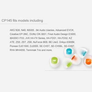 Image 5 - SpinFit CP145 インイヤーイヤホン特許 360 度自由に回転イヤーチップシリコーンイヤーチップ 4.5 ミリメートルノズル径 CP100M CP100L/ S CP800M