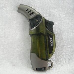Image 4 - Outdoor BBQ Spray Gun Jet Butane Pipe Lighter Torch Turbo Lighter Gas Cigarette 1300 C Fire Windproof Cigar Lighter