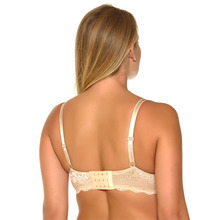 2017 Women Bra Push Up Very Big Size Underwire 3/4 Cup Black Sexy Lace Bra Back Closure Underwear D DD DDD E F FF G 30-46 NO7609