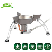 BRS-11 Windproof Outdoor Gas Stove Portable Split Cookware Camping Hiking Climbing Picnic Gas Burner professional stove