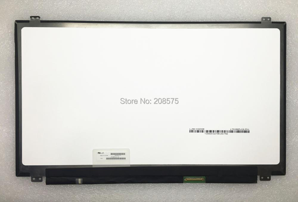 Free shipping  Original New LTN156FL02 LTN156FL02-101 156''inch slim Laptop Lcd Led Screen 4K UHD 3840*2160 EDP 40pin