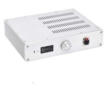 KSA-5 Silver All Aluminum Headphone Amplifier Chassis Power Amp Enclosure Mini Amplifier Case DIY Box