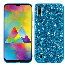 Luxury colorful shiny TPU back cover for Samsung Galaxy A10E A70 A60 A50 A40 A30 A10 M20 M10 S10 5G Plus S10E phone case
