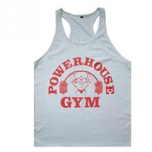 Singlets бак оборудования бодибилдинг футболки фитнес топы марка мужские мужская одежда