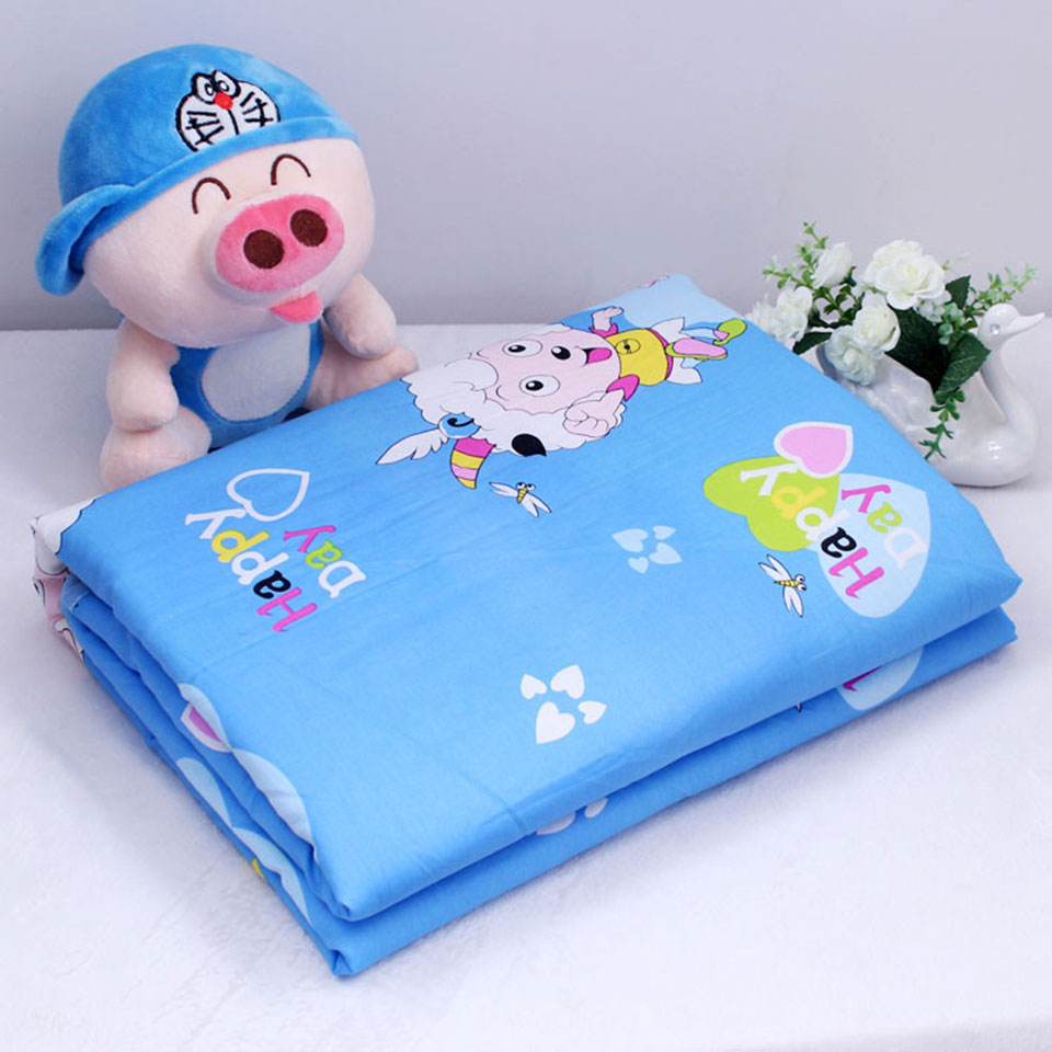 Reusable Big Size 120*150cm Baby Changing Pads & Covers Water proof Baby Diapers Nappy Cotton Bed Sheet Changing