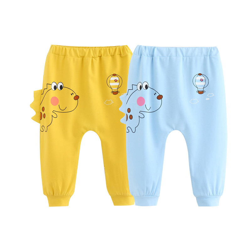 Bottoms-Pants Dinosaur-Trousers Animal Toddler Infant Baby-Boy Cartoon Casual Summer