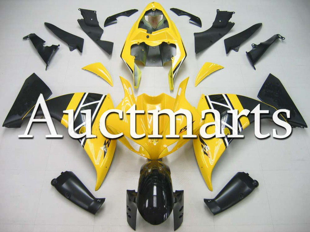For Yamaha YZF 1000 R1 2009 2010 2011 2012 YZF1000R inject ABS Plastic motorcycle Fairing Kit YZFR1 09 10 11 12 YZF1000R1 CB23