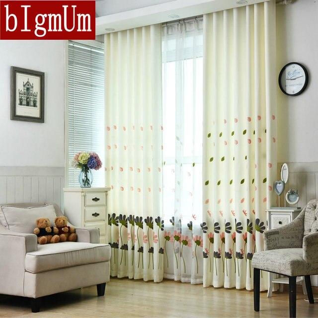 Tenda di lino per la Cucina di Lusso Fiore Bianco Ricamato ...