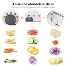 18 Types Mandoline Slicer Cutter Chopper and Grater