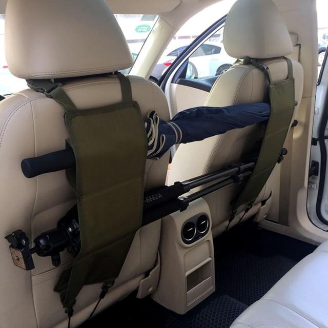SUV Trucks Car Back Seat Black Rifle Gun Rack Case Organizer Gun ...