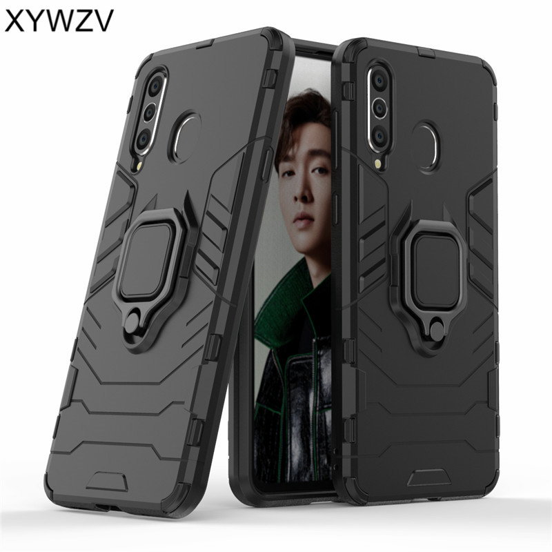 For Samsung Galaxy A8s Case Armor Silm Metal Finger Ring Holder Phone A8S Back Cover