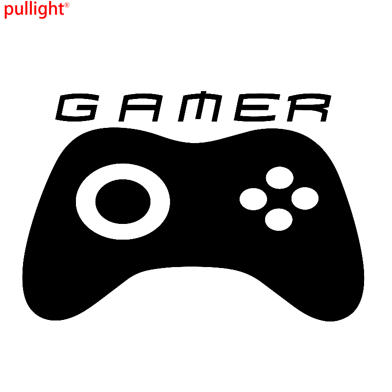 LARGE GAMER Funny Van Car JDM Vinyl Decal Sticker
