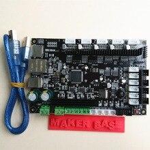 CE & RoHS 32bit Arm платформы Гладкую управления МКС SBASE V1.3 с открытым исходным кодом MCU-LPC1768 поддержка Ethernet предустановленной радиатора