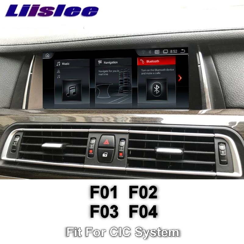 For BMW 7 F01 F02 F03 F04 2008~2012 CIC LiisLee Multimedia GPS Audio Hi Fi Radio Stereo Original Style System Navigation