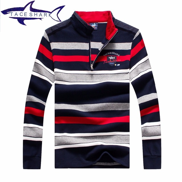 Original Brand Tace & Shark Sweater 2016 The New Fall Winter Men Sweater Pullover Men Stripe Men's Casual Slim Sweater 1653