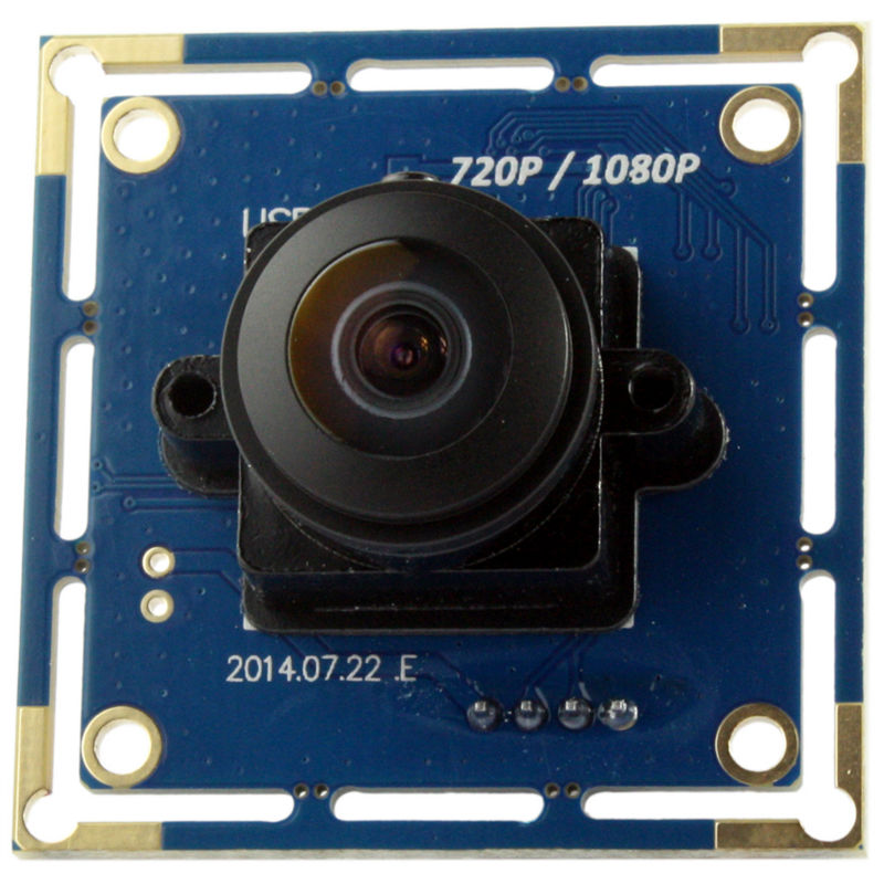 2MP wide angle 180 degree fish-eye lens usb board camera Android, Linux, Windows CE, Mac OS - ELP Official Store store