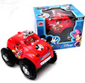T2129 baby toys electric cars rapid dump trucks kids toy mickey dumpers puzzle toy car Children vehicle toy gifts for boy