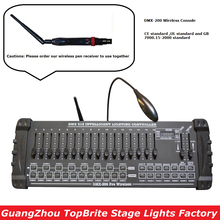 2020 Быстрая доставка 1 шт./лот DMX 200 беспроводной контроллер DMX 512 DJ DMX консоль оборудование для сцены вечерние свадебные события освещение