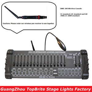 Image 1 - 2020 Fast Shipping 1Pcs/Lot DMX 200 Wireless Controller DMX 512 DJ DMX Console Equipments For Stage Party Wedding Event Lighting