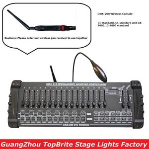 Image 1 - 2020 transporte rápido 1 pçs/lote DMX 200 controlador sem fio dmx 512 dj dmx console equipamentos para festa de palco casamento evento iluminação