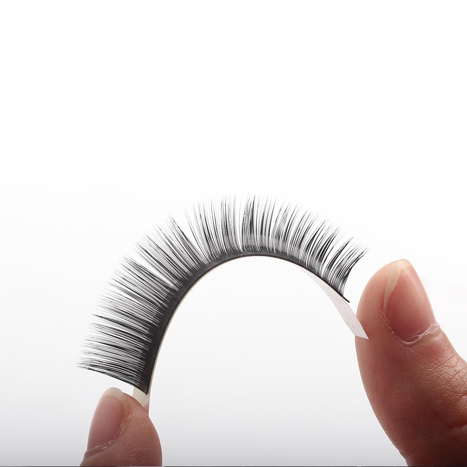 Russian eyelash extensions D Curl 8mm-14mm mix Handmade natural false eye lashes makeup beauty mink eyelashes