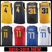f8368220e16e 4 Victor Oladipo 13 Paul George JERSEY 11 Trae Young 77 Luka Doncic  BASKETBALL JERSEYS(