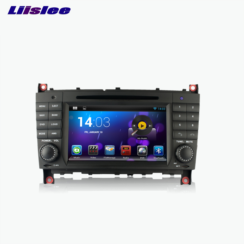 Liislee Android Car GPS Navigation player For Benz C-Class W203 / <font><b>CLK</b></font> <font><b>W209</b></font> 2004~2007 Multimedia Audio Video <font><b>Radio</b></font> image