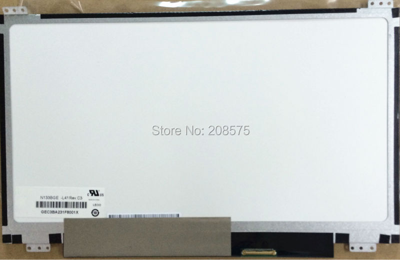 Free shipping N133BGE-L41 Rev C3 for ASUS S300C Lcd Screen UP+DOWN screw holes Slim Laptop LED Display Screen лампа hb3 clearlight 12v 60w x treme vision 150