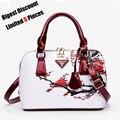 High Quality Famous Brand Women Bag Top-Handle Bags 2016 Fashion Women Messenger Bag Handbag Set PU Leather Retro Tote Bag