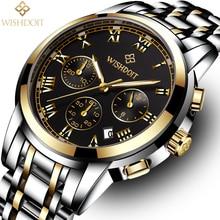 цена Fashion Stainless Steel XFCS Mens Watches 2018 Luxury Brand Casual Geneva Quartz Wrist Watch Male Clock Relogio Masculino Gift онлайн в 2017 году