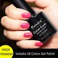 Volodia 1 Botella 10 ml Gel Polish Puro y Brillante 58 Colores Para elegir Color de Esmalte de Gel UV LED Esmalte de Uñas de Gel Vernish Profesional