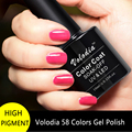 Volodia 1 Frasco De 10 ml Polonês Gel Pure & Brilhante 58 Cores Para escolher LED UV Gel Unha Polonês Verniz Gel Esmalte Cor Profissional