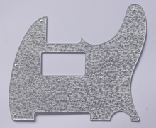 KAISH Silver Sparkle Tele Guitar Humbucker Scratch Plate Pickguard fits Fender