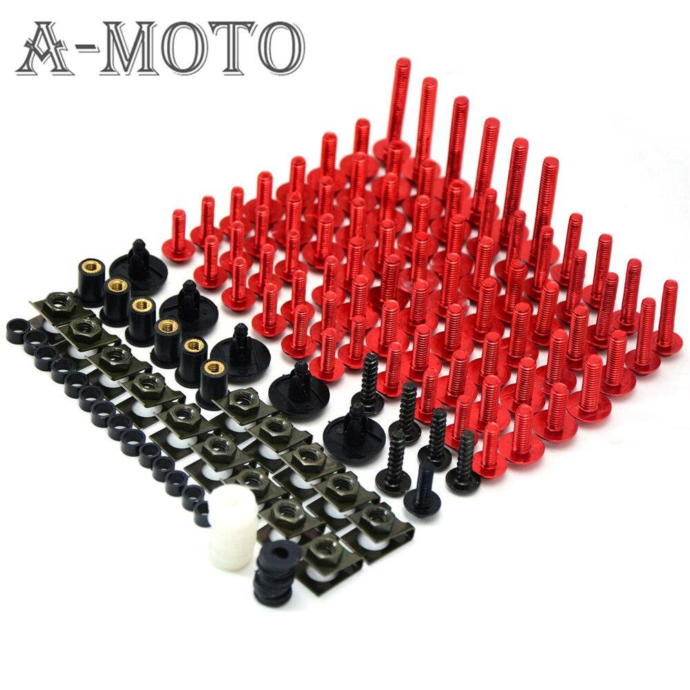 Motorcycle accessories custom fairing screw bolt windscreen screw FOR  suzuki hayabusa gsx1300r gsx600 gsxr750 csr1000 GSXR1300