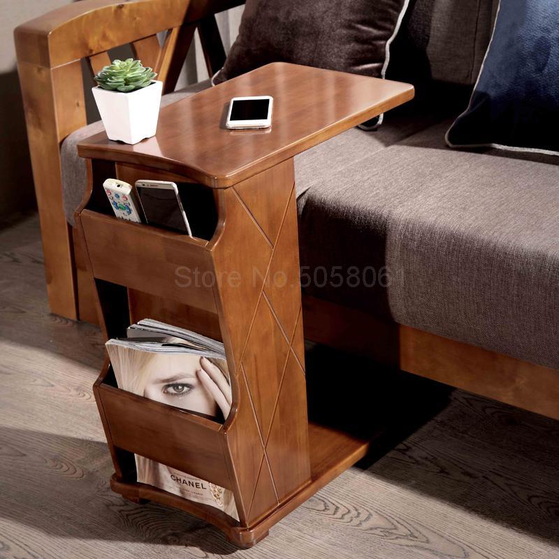 Begeistert Ein Paar Ecken Der Sofa Kann Bewegt Werden, Multi-funktion Lagerung Seite Tisch, Schlafzimmer Nacht Computer Tisch
