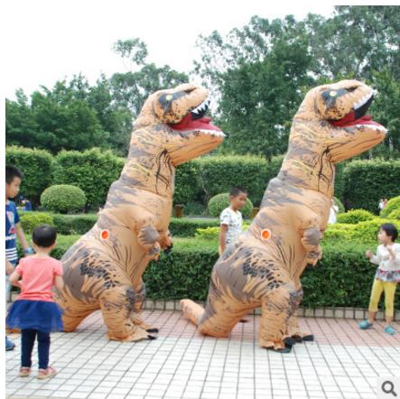INFLATABLE Dinosaur T REX Costumes for women Blowup T-Rex Dinosaur Halloween Inflatable costume mascot Party costume for adult