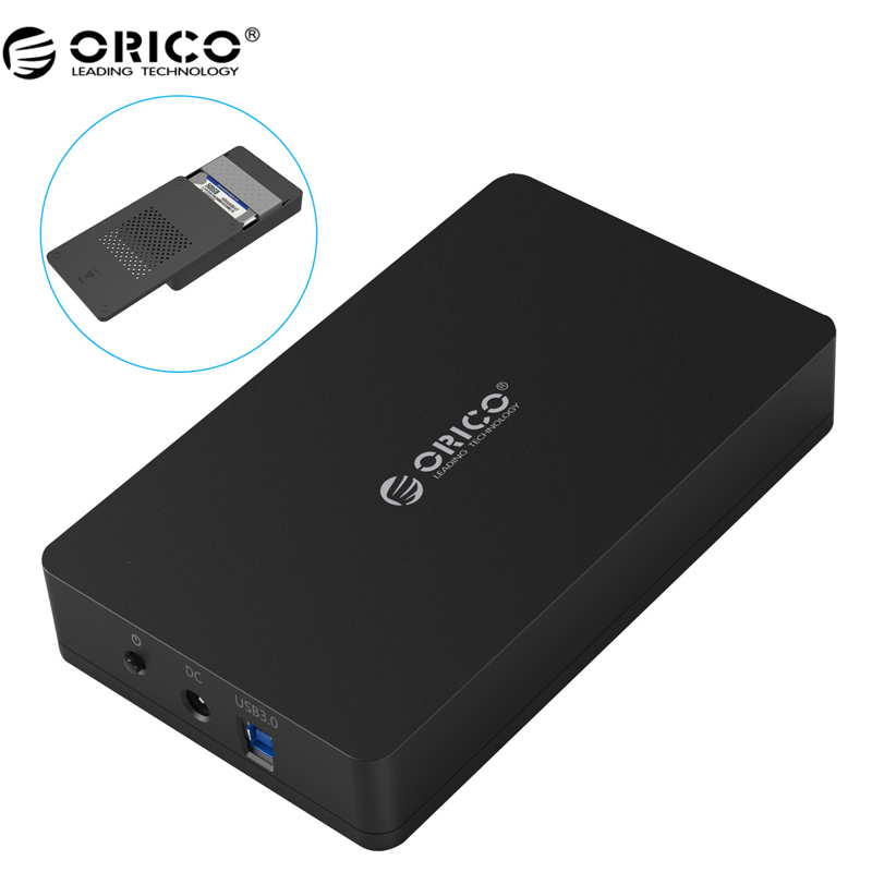 ORICO 3569S3 3.5 inch Hard disk box Sata 3.0 USB 3.0 HDD Case Tool Free Support UASP Protocols ORICO Hard Drive Enclosure все цены