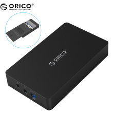 ORICO 3569S3 3.5 inch Hard disk box Sata 3.0 USB 3.0 HDD Case Tool Free Support UASP Protocols ORICO Hard Drive Enclosure