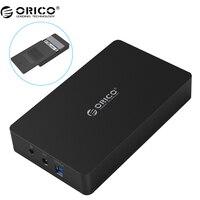 Orico 3569s3 3.5 inch hộp đĩa cứng sata 3.0 usb 3.0 hdd trường hợp công cụ miễn hỗ trợ uasp giao thức orico hard drive enclosure