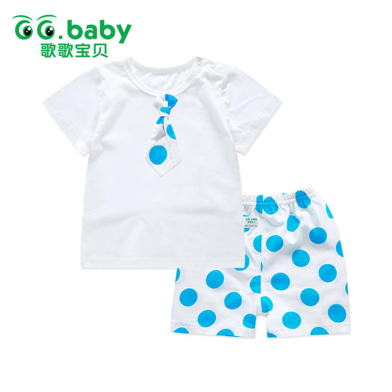 2pcs Suit Newborn Baby Boy Girl Clothing Sets Baby Summer Style Infant Girls Boy Clothes Set Muscle Shirt+Shorts For Erkek Bebek 2pcs set baby clothes set boy