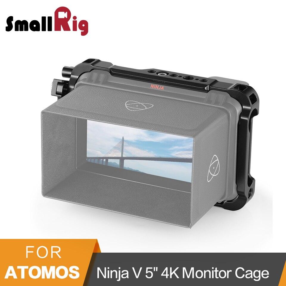 SmallRig Form fitting Cage for Atomos Ninja V 5 4K HDMI Recording Monitor Cage With Built
