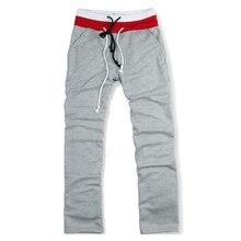 SZ LGFM Men Sweat Pants Dance Baggy Jogging Trousers Gray S