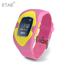 Etab GW001 GSM SIM Card New Russian En Spanish Smart Pedometer Wrist Track Dial Answer Phone Call Kids Safety Global GPS Watch