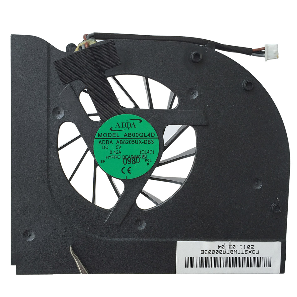 CPU Cooling Fan  For GIGABYTE Q1585N CPU Cooler Radiator Cooling Fan xtm cooling fan posts rail 6x6mm