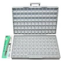 AideTek SMD 0603 инженерный образец коробка с конденсаторами комплект 100 значений x 50 шт в коробке-все NPO 10 мкФ Ассорти пластиковых частей коробки инструментов C0650