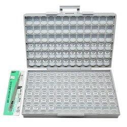AideTek SMD 0603 الهندسة عينة مكثف مربع كيت 100 قيم x 50 قطعة في مربع-جميع NPO 10 فائق التوهج حلو البلاستيك جزء الأدوات C0650