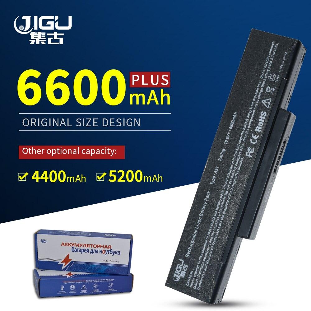 Bilgisayar ve Ofis'ten Dizüstü Bilgisayar Bataryaları'de JIGU dizüstü pil için LG/Asus E500 EB500 ED500 M740BAT 6 M660BAT 6 M660NBAT 6 SQU 524 SQU 528 SQU 529 718 BTY M66 M68